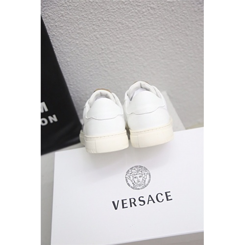 Replica Versace Casual Shoes For Men #790898 $77.60 USD for Wholesale