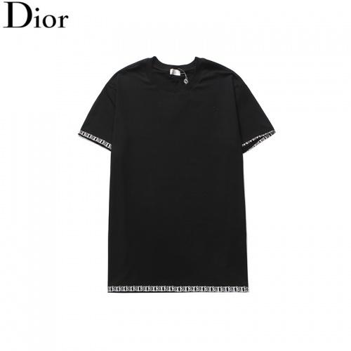Christian Dior T-Shirts Short Sleeved O-Neck For Men #791011 $24.25, Wholesale Replica Christian Dior T-Shirts