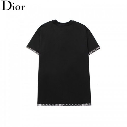 Replica Christian Dior T-Shirts Short Sleeved O-Neck For Men #791011 $24.25 USD for Wholesale