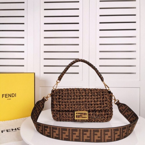 Fendi AAA Quality Messenger Bags For Women #791013
