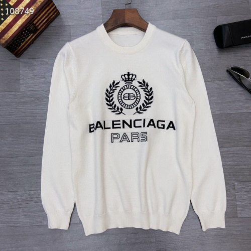 Balenciaga Sweaters Long Sleeved O-Neck For Men #791076