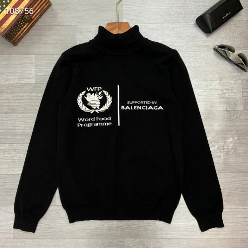 Balenciaga Sweaters Long Sleeved For Men #791083