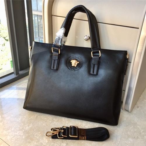 Versace AAA Man Handbags #791095 $111.55, Wholesale Replica Versace AAA Man Handbags