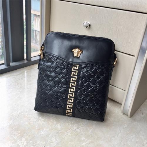 Versace AAA Man Messenger Bags #791096 $97.00, Wholesale Replica Versace AAA Man Messenger Bags