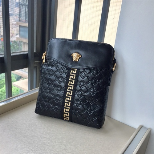 Replica Versace AAA Man Messenger Bags #791096 $97.00 USD for Wholesale