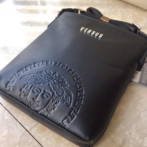 Replica Versace AAA Man Messenger Bags #791098 $97.00 USD for Wholesale