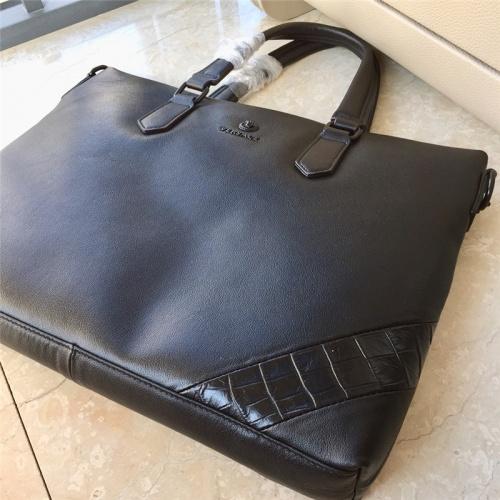 Replica Versace AAA Man Handbags #791101 $111.55 USD for Wholesale
