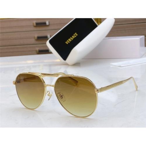 Versace AAA Quality Sunglasses #791117 $54.32, Wholesale Replica Versace AAA+ Sunglasses