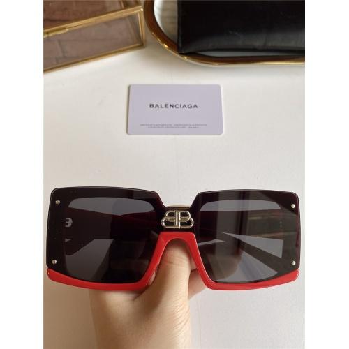 Balenciaga AAA Quality Sunglasses #791186