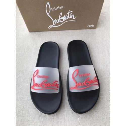 Christian Louboutin CL Slippers For Men #791248
