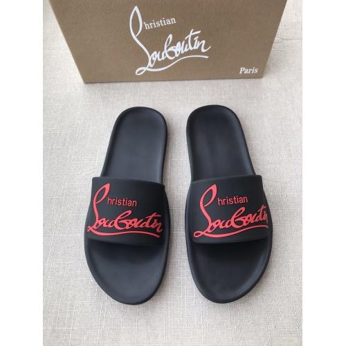Christian Louboutin CL Slippers For Men #791251