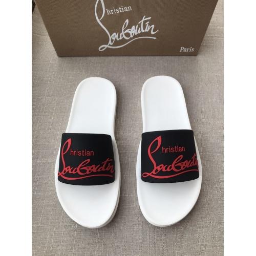Christian Louboutin CL Slippers For Men #791252