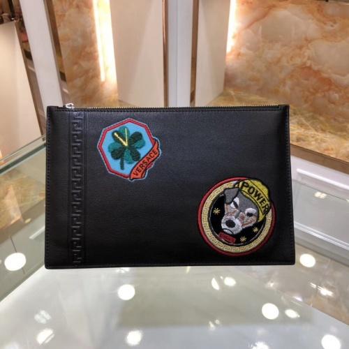Versace AAA Man Wallets #791295 $65.96, Wholesale Replica Versace AAA Man Wallets