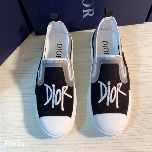 Replica Christian Dior Casual Shoes For Men #791341 $69.84 USD for Wholesale