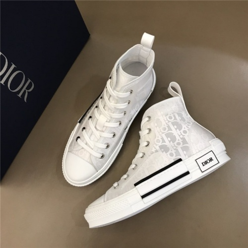 Christian Dior High Tops Shoes For Men #791352