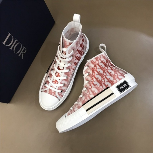 Christian Dior High Tops Shoes For Men #791359