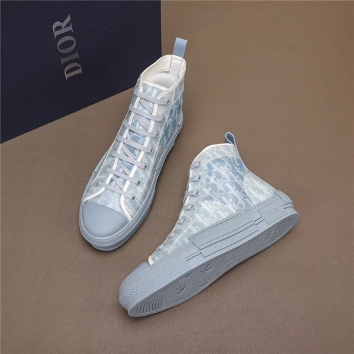Christian Dior High Tops Shoes For Men #791360