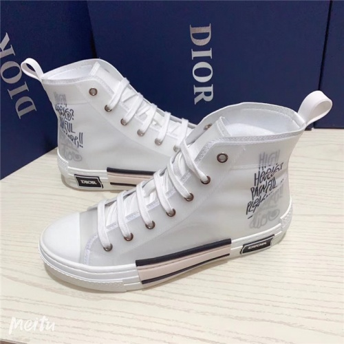 Christian Dior High Tops Shoes For Men #791361