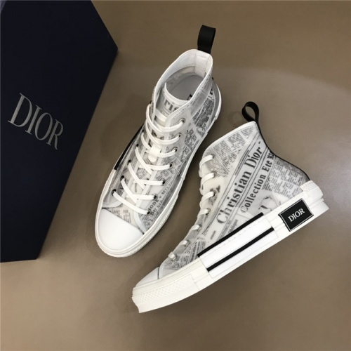 Christian Dior High Tops Shoes For Women #791371