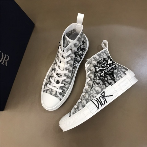 Christian Dior High Tops Shoes For Women #791372