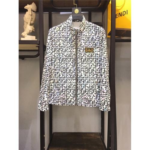 Fendi Jackets Long Sleeved Zipper For Men #791500