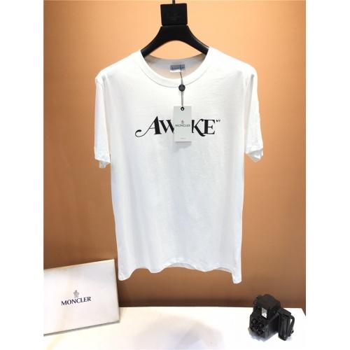 Moncler T-Shirts Short Sleeved O-Neck For Men #791516