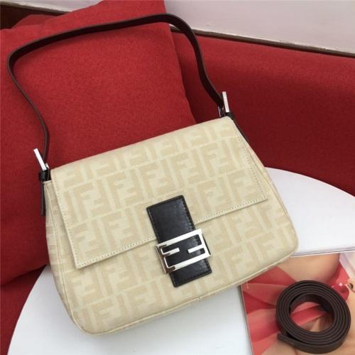 Fendi AAA Messenger Bags #791530 $82.45, Wholesale Replica Fendi AAA Messenger Bags