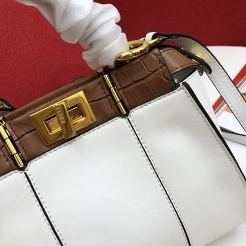 Replica Fendi AAA Messenger Bags For Women #791583 $124.16 USD for Wholesale