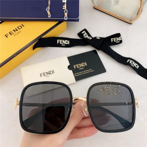Fendi AAA Quality Sunglasses #791603