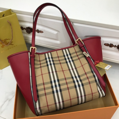 Replica Burberry AAA Handbags For Women #791605 $93.12 USD for Wholesale