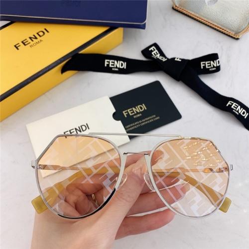 Fendi AAA Quality Sunglasses #791612 $59.17, Wholesale Replica Fendi AAA Sunglasses