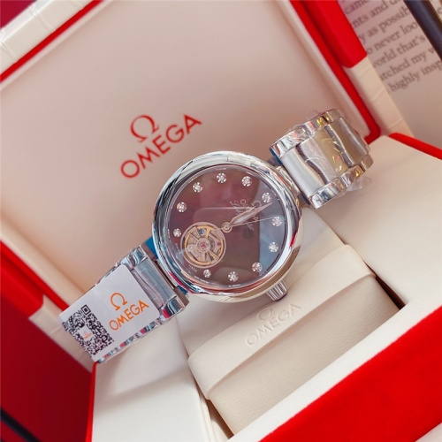 Replica OMEGA AAA Quality Watches For Women #791856 $194.00 USD for Wholesale