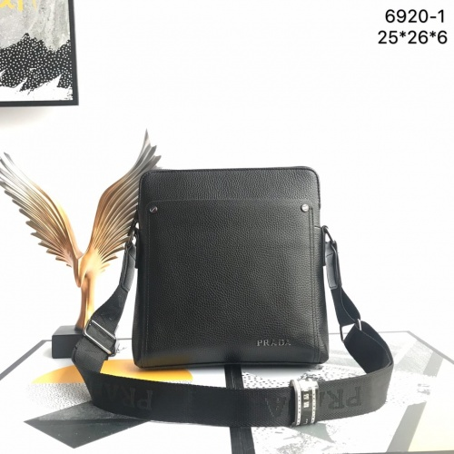 Prada AAA Quality Messeger Bags For Men #791912 $73.72 USD, Wholesale Replica Prada AAA Quality Messeger Bags