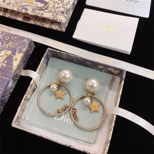 Christian Dior Earrings #791978 $34.92, Wholesale Replica Christian Dior Earrings