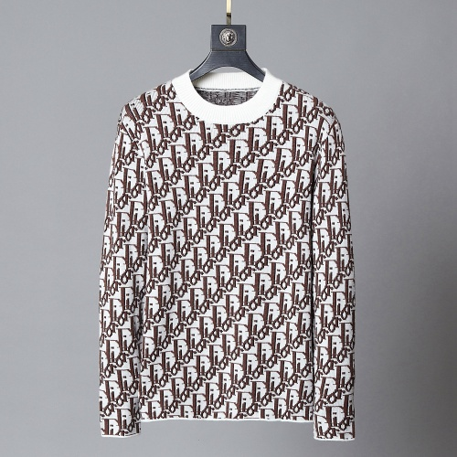 Christian Dior Sweaters Long Sleeved O-Neck For Men #792001