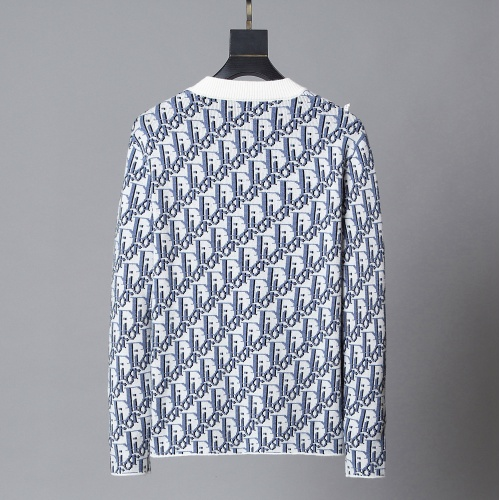 Replica Christian Dior Sweaters Long Sleeved O-Neck For Men #792002 $40.74 USD for Wholesale