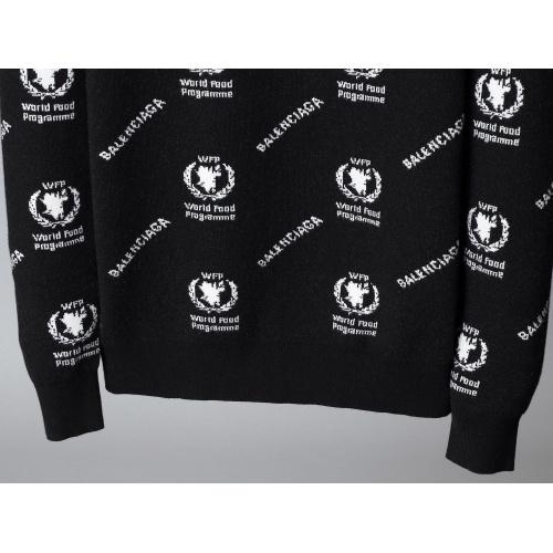 Replica Balenciaga Sweaters Long Sleeved O-Neck For Men #792005 $40.74 USD for Wholesale