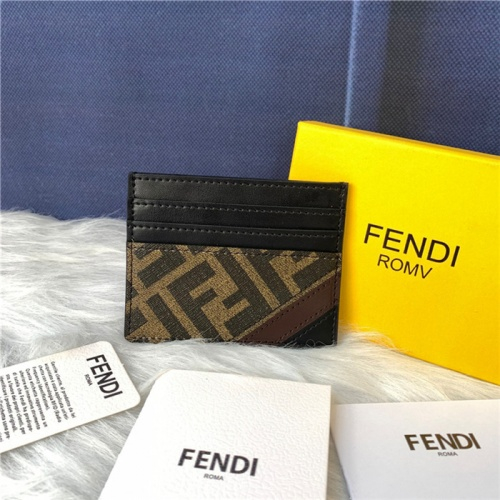 Fendi AAA Quality Card Holders #792032 $47.53, Wholesale Replica Fendi AAA+ Quality Wallet