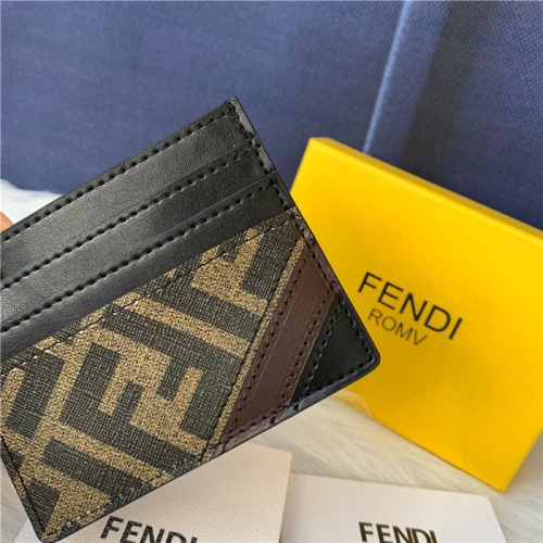 Replica Fendi AAA Quality Card Holders #792032 $47.53 USD for Wholesale