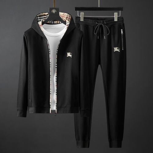 Burberry Tracksuits Long Sleeved Zipper For Men #792040