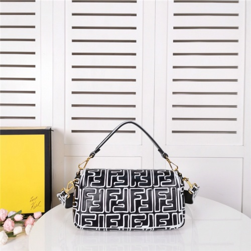 Replica Fendi AAA Quality Shoulder Bags #792043 $136.77 USD for Wholesale