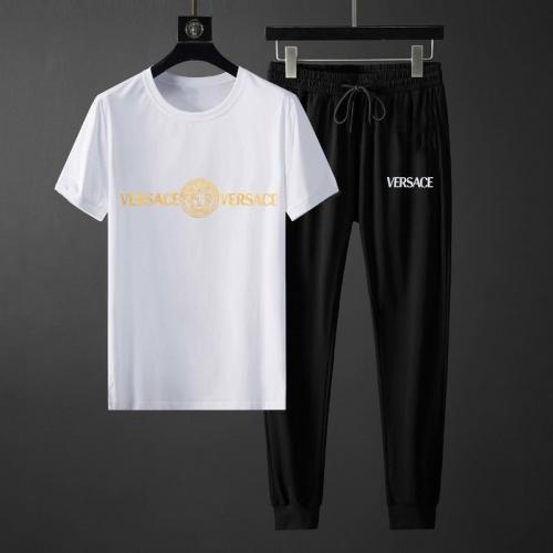 Versace Tracksuits Short Sleeved O-Neck For Men #792063