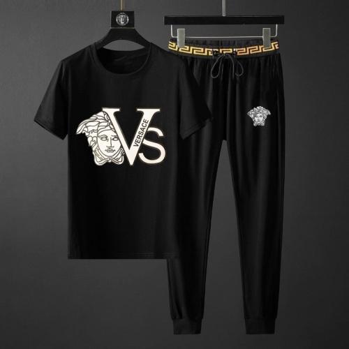 Versace Tracksuits Short Sleeved O-Neck For Men #792091