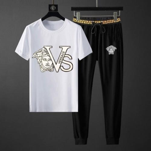 Versace Tracksuits Short Sleeved O-Neck For Men #792092