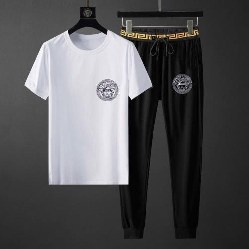 Versace Tracksuits Short Sleeved O-Neck For Men #792094