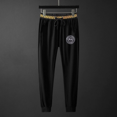 Replica Versace Tracksuits Short Sleeved O-Neck For Men #792094 $65.96 USD for Wholesale