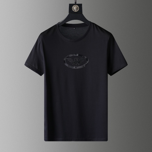 Armani T-Shirts Short Sleeved O-Neck For Men #792114