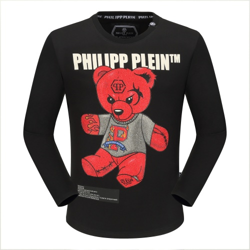 Philipp Plein PP T-Shirts Long Sleeved O-Neck For Men #792325