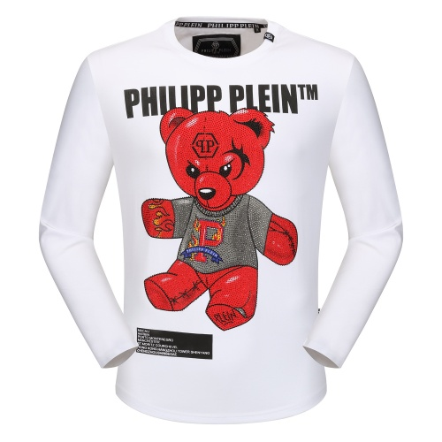 Philipp Plein PP T-Shirts Long Sleeved O-Neck For Men #792326