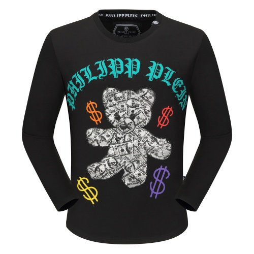 Philipp Plein PP T-Shirts Long Sleeved O-Neck For Men #792329